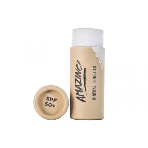 Disponibil in curand - White Mineral Sunstick SPF 50+, 30g, Amazinc!
