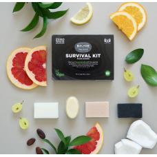 Disponibil în curând - Kit supraviețuire zero waste pentru bărbați 4x20 g, Balade en Provence