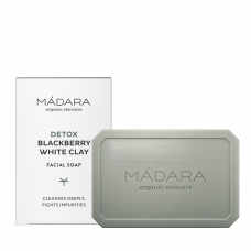 Săpun facial DETOX | mure & argilă albă, MÁDARA