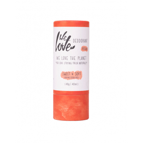 Deodorant natural cu shea si cocos Sweet Soft 48 g, We Love The Planet