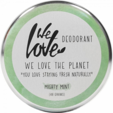 Deodorant natural cremă Mighty Mint, We love the planet, 48 g