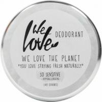 Deodorant natural cremă So Sensitive, We love the planet, 48 g