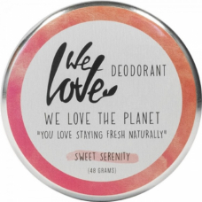 Deodorant natural cremă Sweet Serenity, We love the planet, 48 g