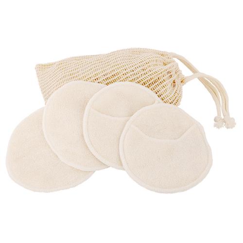 Dischete demachiante lavabile, 4 buc + săculeț spălare, Jovis