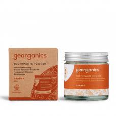 Disponibil in curand - Pastă de dinți pudră ORANGE 60ml, Georganics