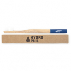 Periuta de dinti din bambus extra-soft Albastra, Hydrophil