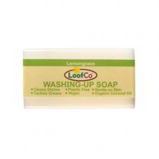 Disponibil in curand - Sapun solid pentru vase, cu lemongrass, LoofCo,100 g