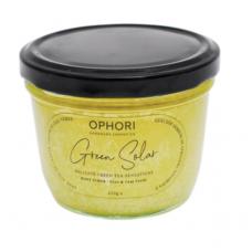 Scrub exfoliant pentru corp cu uree, cânepa și ceai verde – Green Solar, Ophori